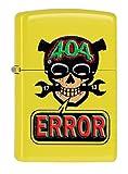 Zippo 60000116 Mechero de 24839 con diseño de calavera de llave error
