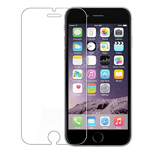 Tempered Glass Screen Scratch Protector Guard for Apple Iphone 6(Clear)