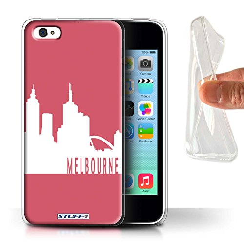 carcasa-funda-stuff4-tpu-gel-para-el-apple-iphone-5c-serie-horizonte-de-la-ciudad-melbourne-rojo