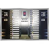 Top 14et Pro D2: Oficial magnético Tabla (2016–2017)