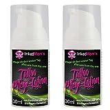 2x Tattoopflege PZN: 10088266 - Mit Panthenol und 100% Bio-Hagebuttenkernöl