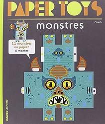 Monstres : 11 monstres en papier à monter