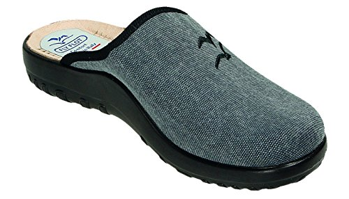 Fly Flot Chaussons Pour Homme Gris Anthracite Anthracite