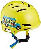 Alpina Kinder Fahrradhelm Park Junior, Yellow Schoolbus, 51-55 cm, 9680141