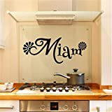stickers muraux cuisine miam pour la cuisine