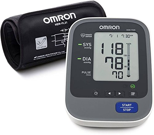 OMRON HEM 7320 T Bluetooth Smart Bp Monitor (Black)