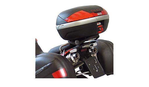 Givi SR5105 Topcase bretelle Monokey valigetta Nero