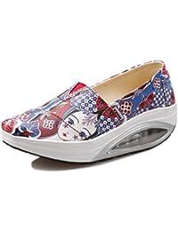SHREEJI - Zapatillas de Otro Material para mujer, color negro, talla 40