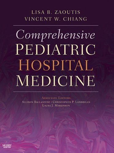 Comprehensive Pediatric Hospital Medicine E-Book