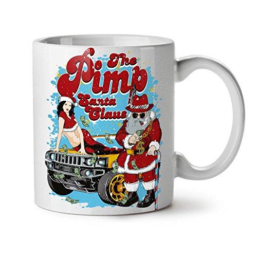 Weihnachtsmann Claus Heiß Weihnachten WeißTee KaffeKeramik Becher 11 | (Wirklich Coole Ideen Kostüme Halloween)