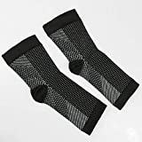 Digital Shoppy Comfort Foot Anti Fatigue Compression Sleeve Elastic Women Men Relieve Swelling Ankle Socks