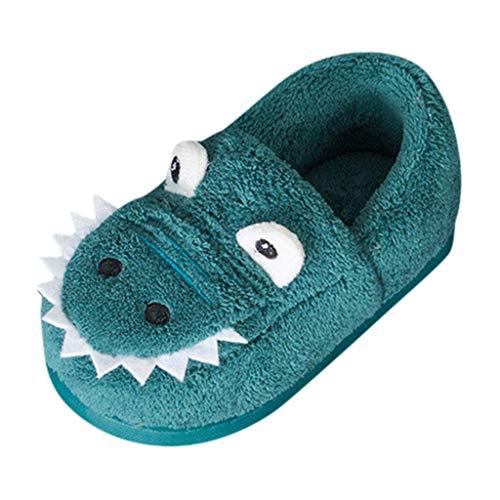 ZOREFINE ♥ Zapatos de algodón para niños de Dibujos Animados Antideslizantes cálidos de Invierno...