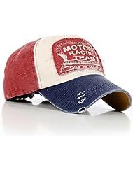 qotone Fashion Vintage Caps Baseball Golf Cotton Adjustable A