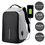 #8: Anti Theft Laptop Travel Backpack/Bagpack with Integrated USB Plug Charging Port