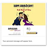 Best Husband Gifts From Wives - Happy Anniversary (For Husband) - E-mail Amazon.in Gift Review