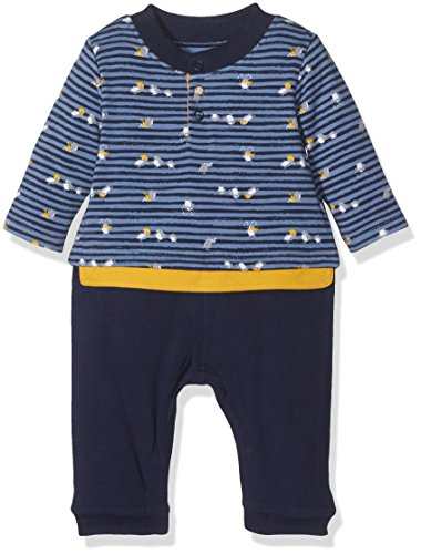 Absorba Boutique Baby - Jungen Spieler Bleu Banquise LG 9K32052, Gr. 74 (Herstellergröße: 12M), Blau (Marine Foncé 49)