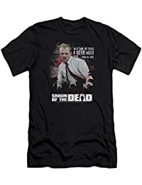 Shaun Of The Dead - - Hero hommes doivent se lever Slim Fit T-shirt