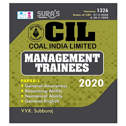 CIL (Coal India Limited) Management Trainees Exam Books in English