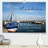 Maasholm - der Fischerort an Schlei und Ostsee (Premium-Kalender 2020 DIN A2 quer): Schöne, romantische Plätze zum Entspannen und Abschalten (Monatskalender, 14 Seiten ) (CALVENDO Orte)