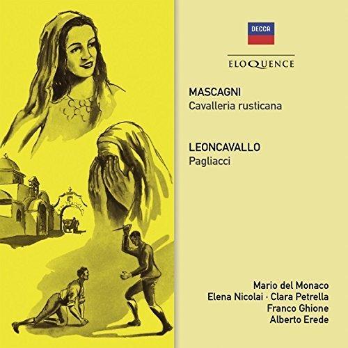 Mascagni: Cavalleria / Leoncavallo: Pagliacci by DEL MONACO / ORCH DEL TEATRO...
