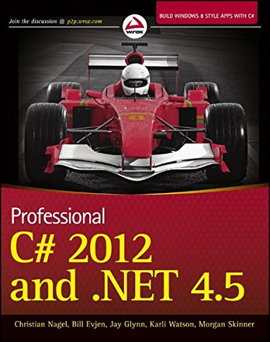 Preisvergleich Produktbild Professional C 2012 and .NET 4.5