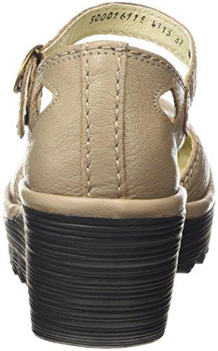Fly LondonYUNA - Scarpe con Tacco donna Beige (Beige (Mushroom))
