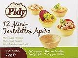 Pidy - Mini-Tartelettes Apéro - 12St/72g