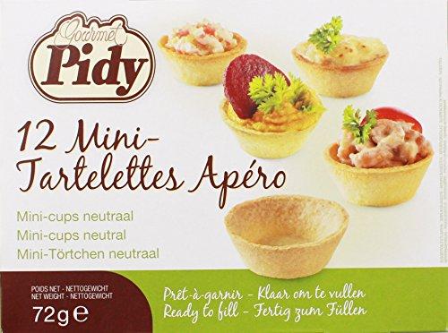 Pidy - Mini-Tartelettes Apéro - 12St/72g Test