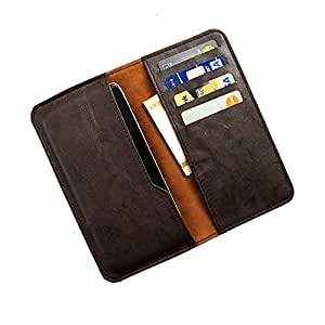 i-KitPit : PU Leather Wallet Flip Pouch Case Cover For iBann Andi 5S Cobalt3 (BROWN)