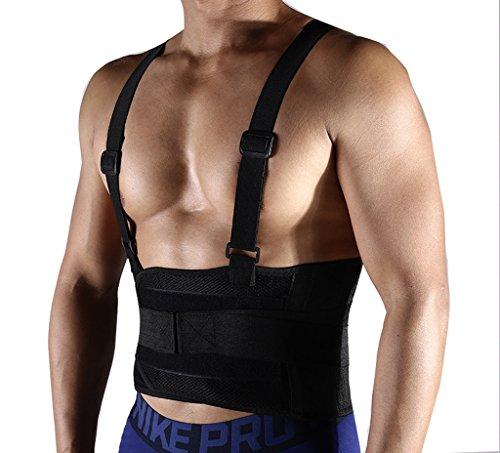JYR Männer und Frauen Taille Trimmer Gürtel für Weight Loss und Taille Schutz Gürtel Fitness Bodyshaper Gürtel Black