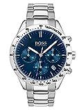 Hugo Boss Mixte Chronographe Quartz Montres bracelet avec bracelet en Acier...