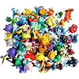 Mbs Store Hooriya Hot Toys Pokemon Action Figures Toys - 2-3Cm - 10 Pcs/Set (Multi Color)