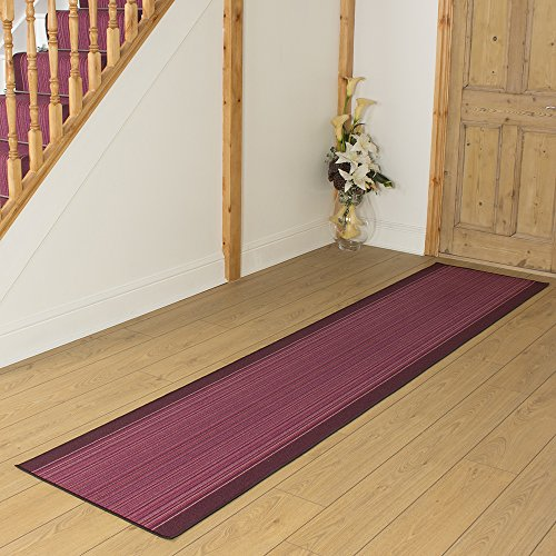 Carnaby Purple - Long Hall & Stair Carpet Runner