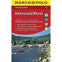 MARCO POLO Freizeitkarte Odenwald, Rhein