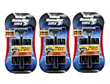 Supermax 3 Smx Razor Pack Of 3 (10 Refills With 1 Razor In A Pack)