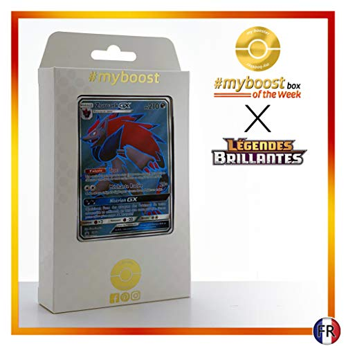 ZOROARK GX SM84 Full Art - #myboost X Soleil & Lune 3.5 Légendes Brillantes - Coffret de 10 Cartes Pokémon françaises
