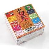 Origami-Papier, Faltblätter, Chiyura-Washi, 7,5cm, 300Blatt Großpackung! 2-466