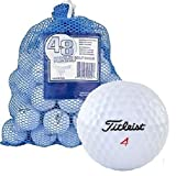 #8: Titleist Recycled Golf Balls in Mesh Bag (48-Pack)