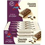 Atkins ED Chocolate Coconut Barritas - Paquete de 15 barritas x 35 gr - Total: 525 gr