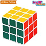 #10: Magic Cube 3x3 Ultra-smooth Spring Speed Puzzle Racing 3-layer White