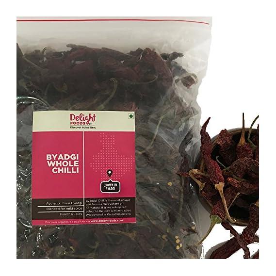 Delight Foods Byadgi Whole Chilli - 250 gm