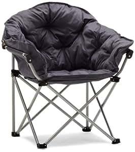 Strathwood Garden Furniture - Basics Foldable Camping Padded Polyester Grey