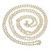 SiAura Material 1x Halskette Gliederkette Metall, Länge 10m, Rosegold