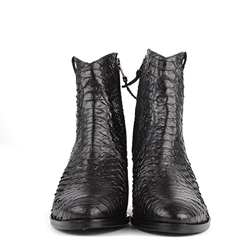 Elia B Schuhe Duel Boots aus Leder Schwarz Damen Schwarz