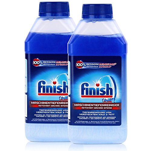 Calgonit Finish Spül-Maschinen-Pfleger 5x Power 250ml (2er Pack)