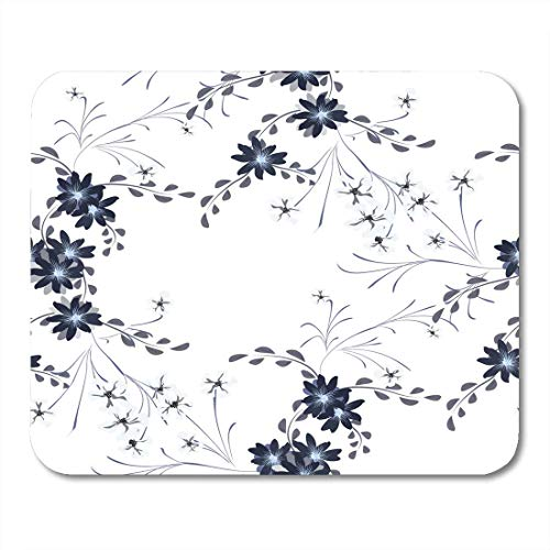 Pansy Chintz (Deglogse Gaming-Mauspad-Matte, Blossom Small Flowers with Cute Daisy and Pansies Feminine in Country Style Calico Chintz Spring Rapport Mouse Pad,Desktop Computers)