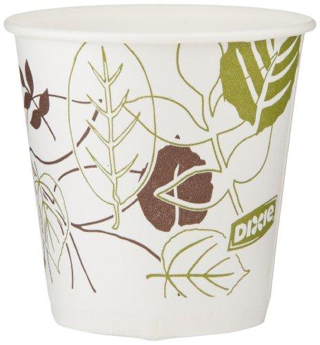 Dixie 45WS WiseSize Wege Flush unten wax-treated kalt Cup, 3oz Kapazität (24Papierhüllen 50Stück)