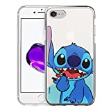 iPhone 8 Plus/iPhone 7 Plus Coque Disney Cute Coque Jelly Souple pour [iPhone...