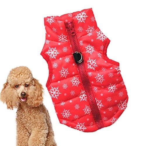 huuation Pet Hund Kleidung Haustier Hund Katze Puppy Coat Kostüme Kleidung für kleine Hunde/Welpen/Teddy Pudel Pet (Verspielt Welpen Kostüme)
