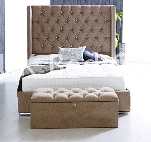 STYLISH Vience Wing Back Low Foot Designer Upholstered
